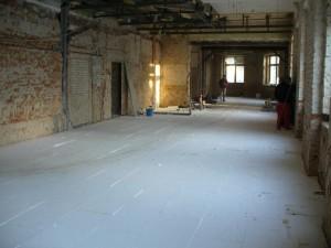 Zateplení podlahy.